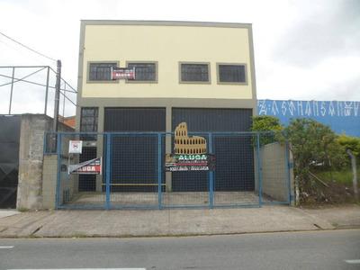 Barracão Comercial Para Locação, Jardim Leocádia, Sorocaba - Ba0024. - Ba0024