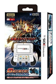 3ds Ll Monster Hunter 4g Extended Slide Pad For Nintendo 3ds