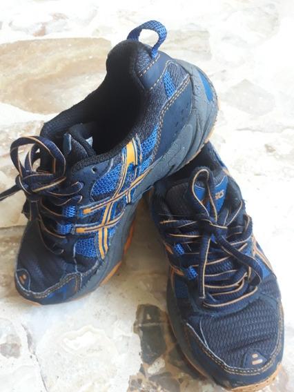 Zapatos Asics Niño. Gel Aventure