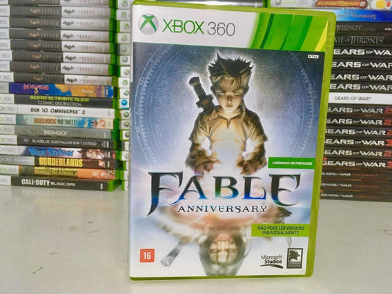 Fable Anniversary, Xbox 360 E Xbix One Original