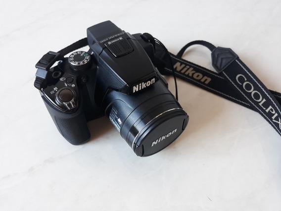 Camera Nikon Coolpix P500 + Case E Acessórios