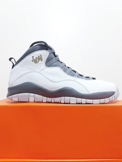Tênis Nike Air Jordan Retro 10 London Basquete Casual Original N.44 (12 Usa)