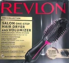 Escova Revlon Salon Oval Secadora E Volumizadora - Usada