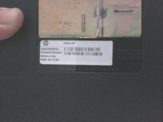 Carcaça Inferior Notebook Hp Dv5