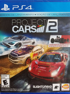 Project Cars 2 Ps4 Español Nuevo Sellado Delivery Stock Ya