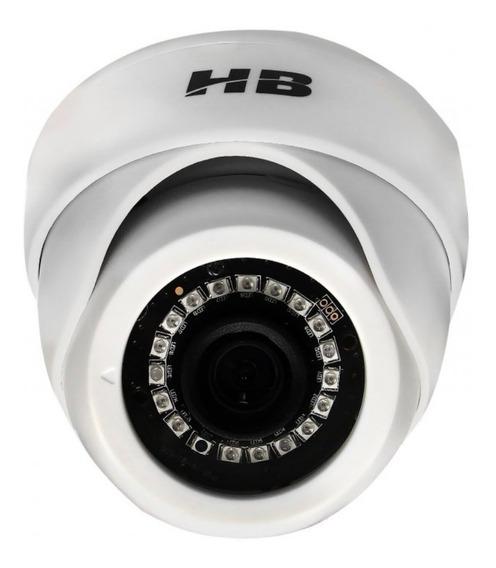 Câmera Dome Hb-2001 Ahd Hdcvi Tvi E Analógica 1 Mega Hd 720p Hbtech