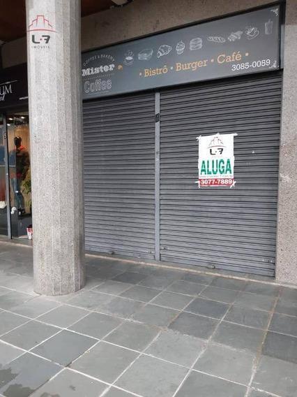 Loja Para Alugar, 70 M² Por R$ 1.800,00/mês - Portão - Curitiba/pr - Lo0036