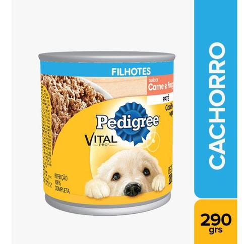 Alimento Húmedo Perro Pedigree Lata Cachorro Carne Y Pollo 2