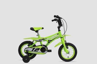Bicicleta Peretti Max Para Chicos Rodado 12 Con Rueditas