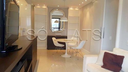 Flat Na Vila Olímpia 2 Dorms 2 Vagas 55m² - Sf3532