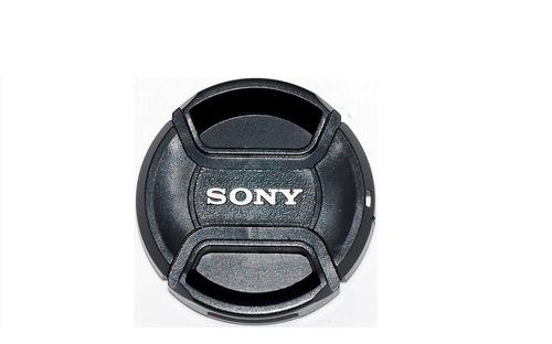 Tapa Lente 49mm  Sony Delantera