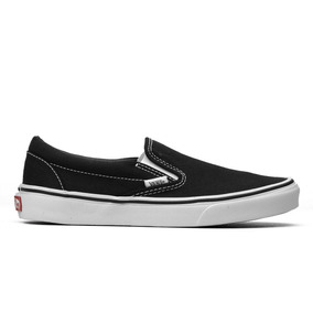 Tênis Vans Slip On Black White - Oferta