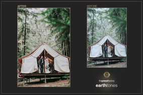 Earth Tones Premium Lightroom Presets Adobe + Brinde