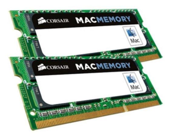 Kit Memoria Corsair 16gb(2x8gb)1333 Mhz iMac Macbook Pro Mac