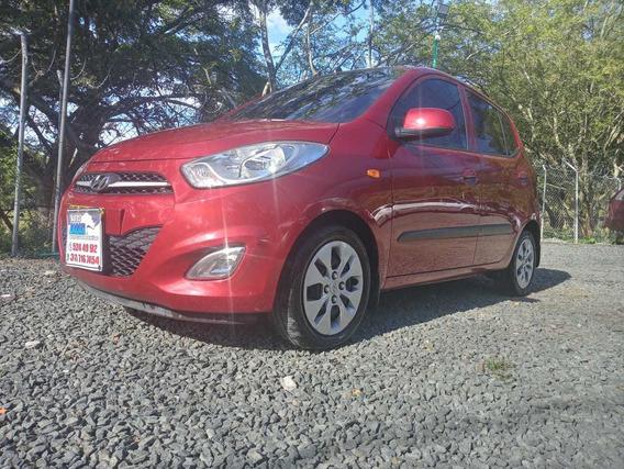 Hyundai I10 Motor 1.1 2012 Rojo 5 Puertas