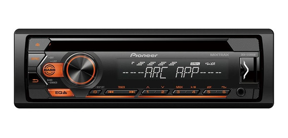 Som automotivo Pioneer DEH S1280UB com USB