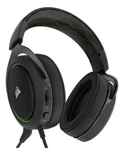 Audífonos gamer Corsair HS50 green