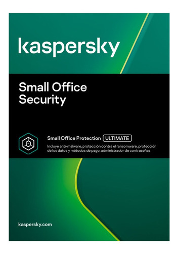 Licencia Kaspersky Small Office For 15 Pcs 2 Server 2 Años