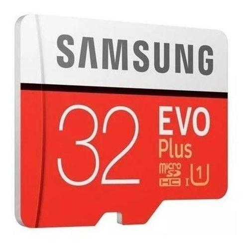 Imagem 1 de 2 de Cartão De Memória Samsung Tf Evo Plus 95mb/s U1 32gb