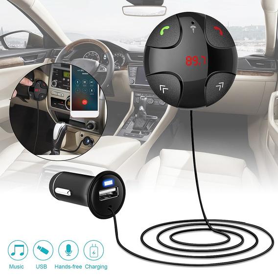 Fm29b Handsfree Sem Fio Bluetooth V3.0 Transmissor Fm Mp3 Us