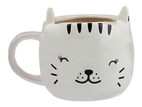 Happy Cat Heat Changing Taza De Cafe De Ceramica
