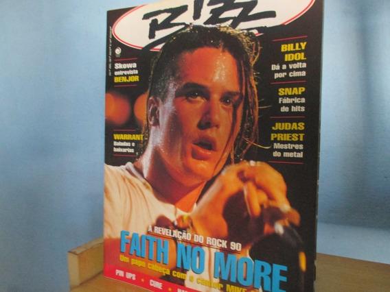 Revista Bizz Num 69 Faith No More Billy Idol Com Fichas 1991