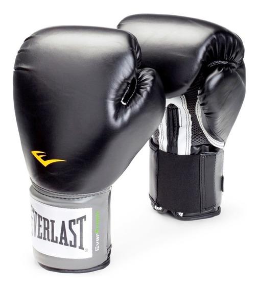 Guantes Boxeo Everlast Pro Style Negro Producto Original