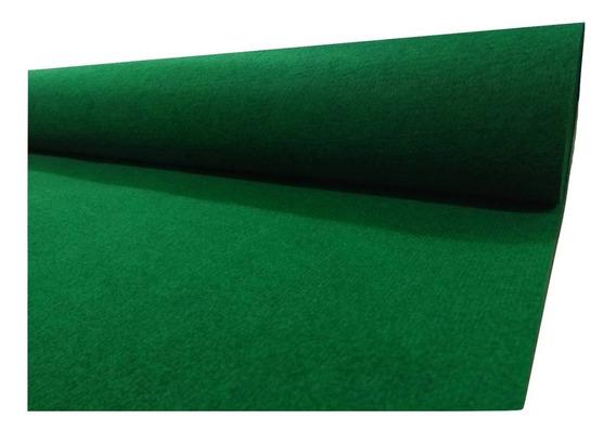 Alfombra Boucle Punzonada Tapizmel Por Rollo 100 M2 Verde
