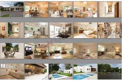 Venta De Residencia De Lujo En Jurica. Casa Con Alberca Y Grandes Jardines