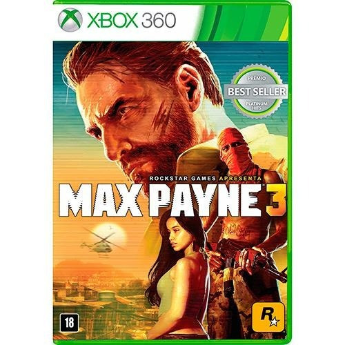 Max Payne 3 - Xbox 360 Mídia Física