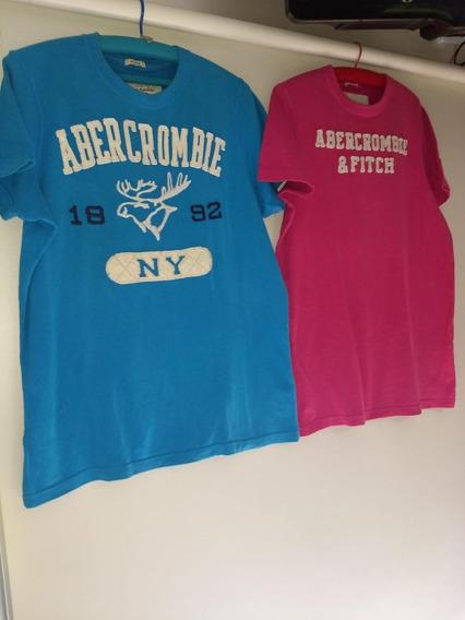 Remeras Abercrombie & Fitsh Original Excelentes!!! Tl