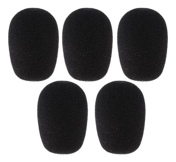 1 Pacote De Microfone Abafadores De Vento Cobre De Espuma Pa