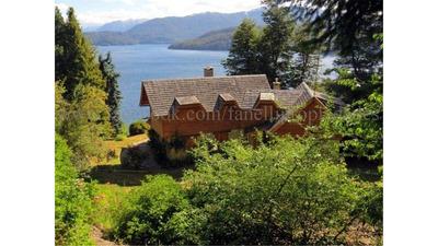 Casa Con Maravillosa Vista Al Lago Nahuel Huapi