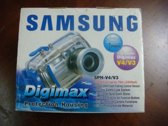 Caixa Estanque Digimax V4 / V3 Camera Samsung P-12