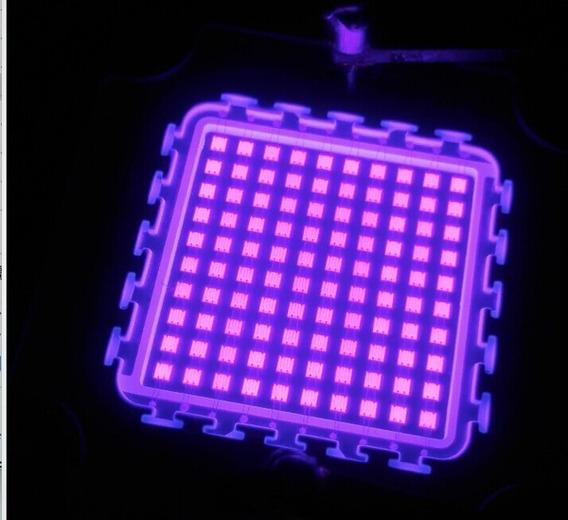 Kit Chip Led 100w Uv Ultra Violeta +driver+dissipador+lente