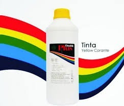 Tinta Yellow Pigmentada 1l Para Hp Pro X 451dw, Pro X 476dw