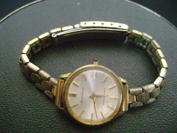 Lote 2 Relógios Feminino A Corda Mondaine Seiko Solar