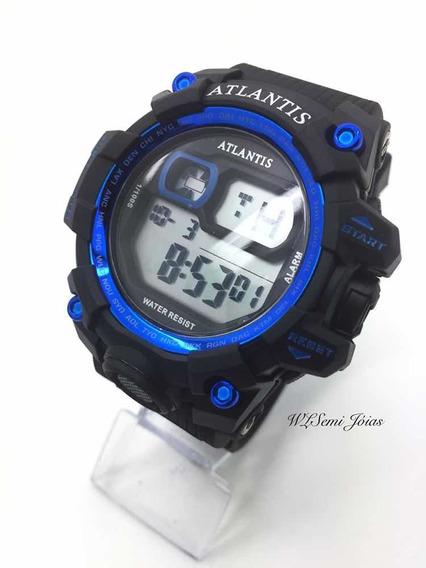 Relógio Masculino Atlantis Sport G5542 Azul