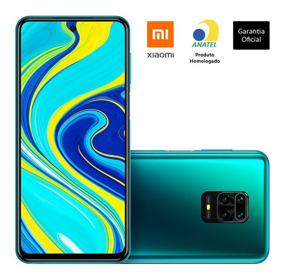 Xiaomi Redmi Note 9s 64gb + 4gb Ram - Versão Global - Anatel