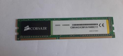 Memória Ram Ddr3 Value Select 4gb 1600mhz Corsair  Pc Gamer