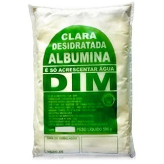 Albumina / Clara Ovo Pó 500g Dim