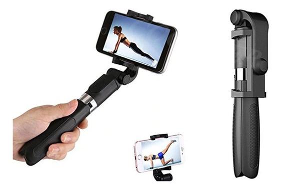 Pau De Selfie Com Tripé Bluetooth iPhone E Android (gopro,lg