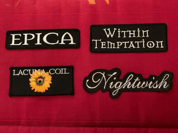 Bordado Patch -within Temptation Nightwish Epica Lacuna Coil