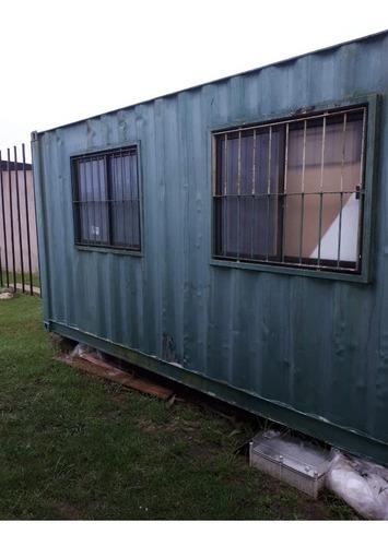 Contenedor Casa Container,  Revestida, Piso Cieloraso Abertu