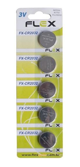 Kit C/ 25 Baterias Moeda Flex Gold Fx-cr2032