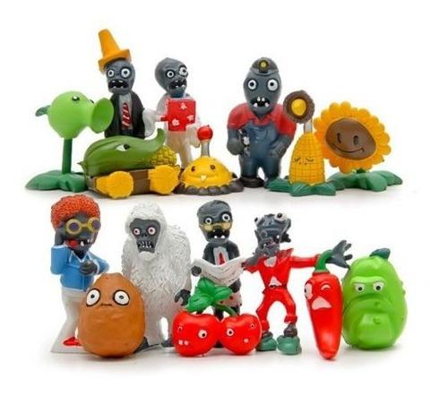Plantas Sin Marca Vs Zombies 16pcs Figuras De Accion Set Toy