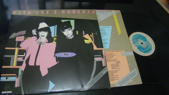 Lp Rita Lee E Roberto , Ótimo Estado, Com Encarte 1983