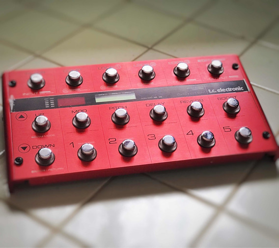 Tc Electronic G System Red Limited Edition (ñ Pod Kemper)
