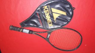 Raqueta De Tenis Pro Kennex Mide Size Graphite + Funda