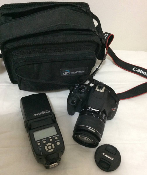 Vendo Camera Profissional Canon